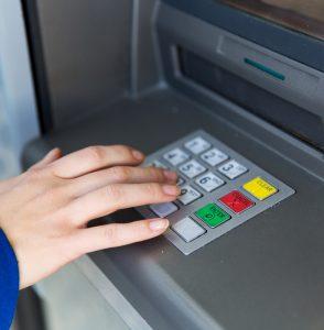 Банкомат снятие наличных