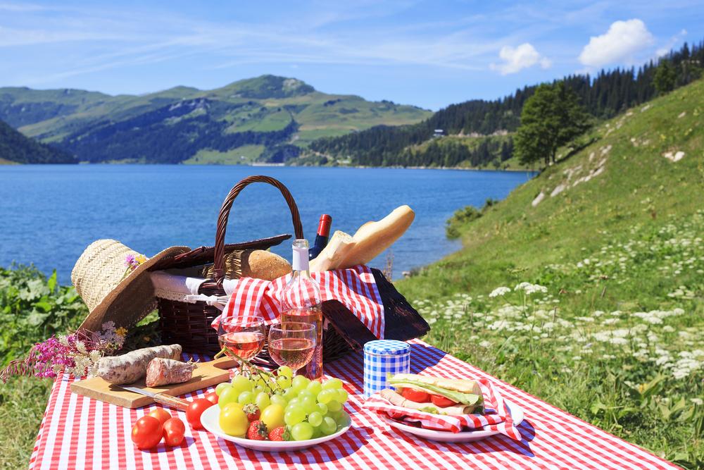 Как заработать на майские: найти место для пикника - фото