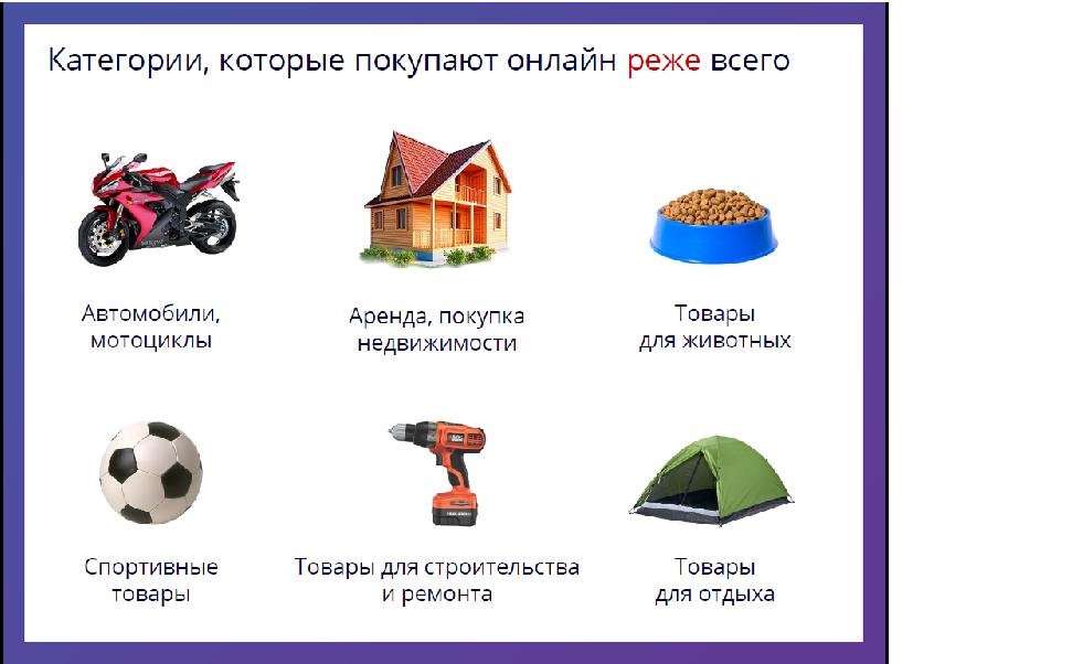 Непопулярные категории онлайн-торговли в Беларуси - фото