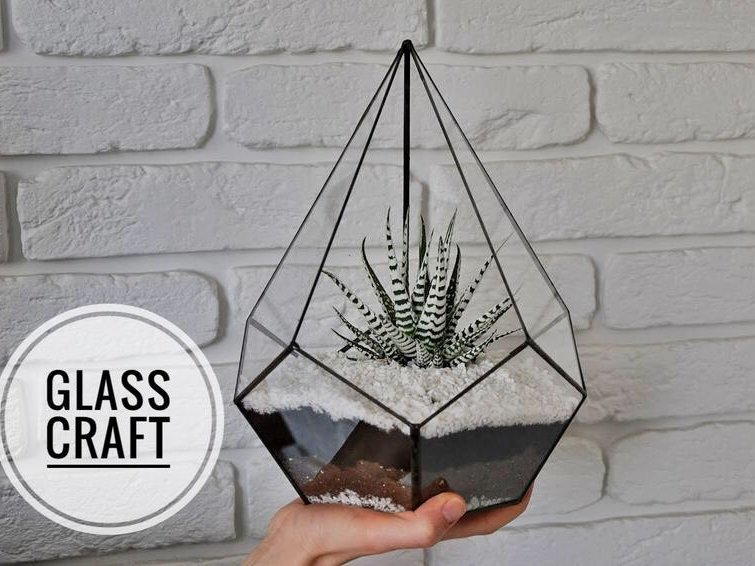 Флорариум Glasscrafta