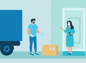 Как «Новая почта» и Justin обеспечивают безопасную доставку во время карантина