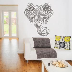Наклейка на стену «Слон»