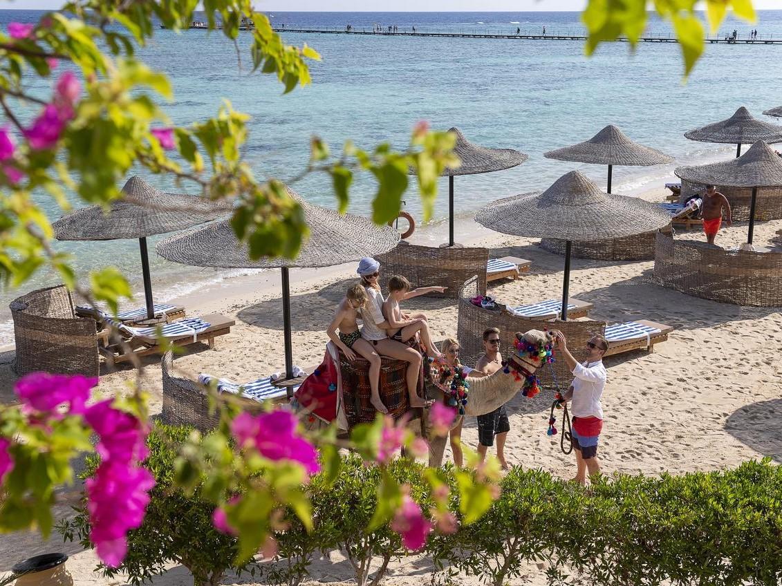 Отель The Three Corners Fayrouz Plaza Beach Resort в Марса-Аламе