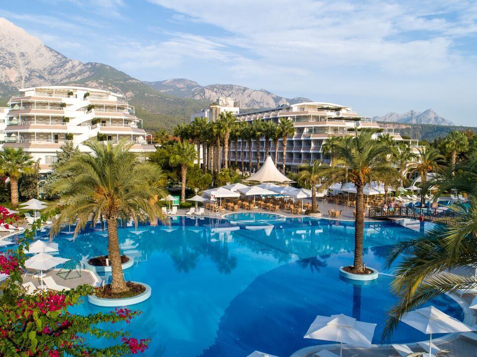 Отель Queen's Park Tekirova Resort & Spa